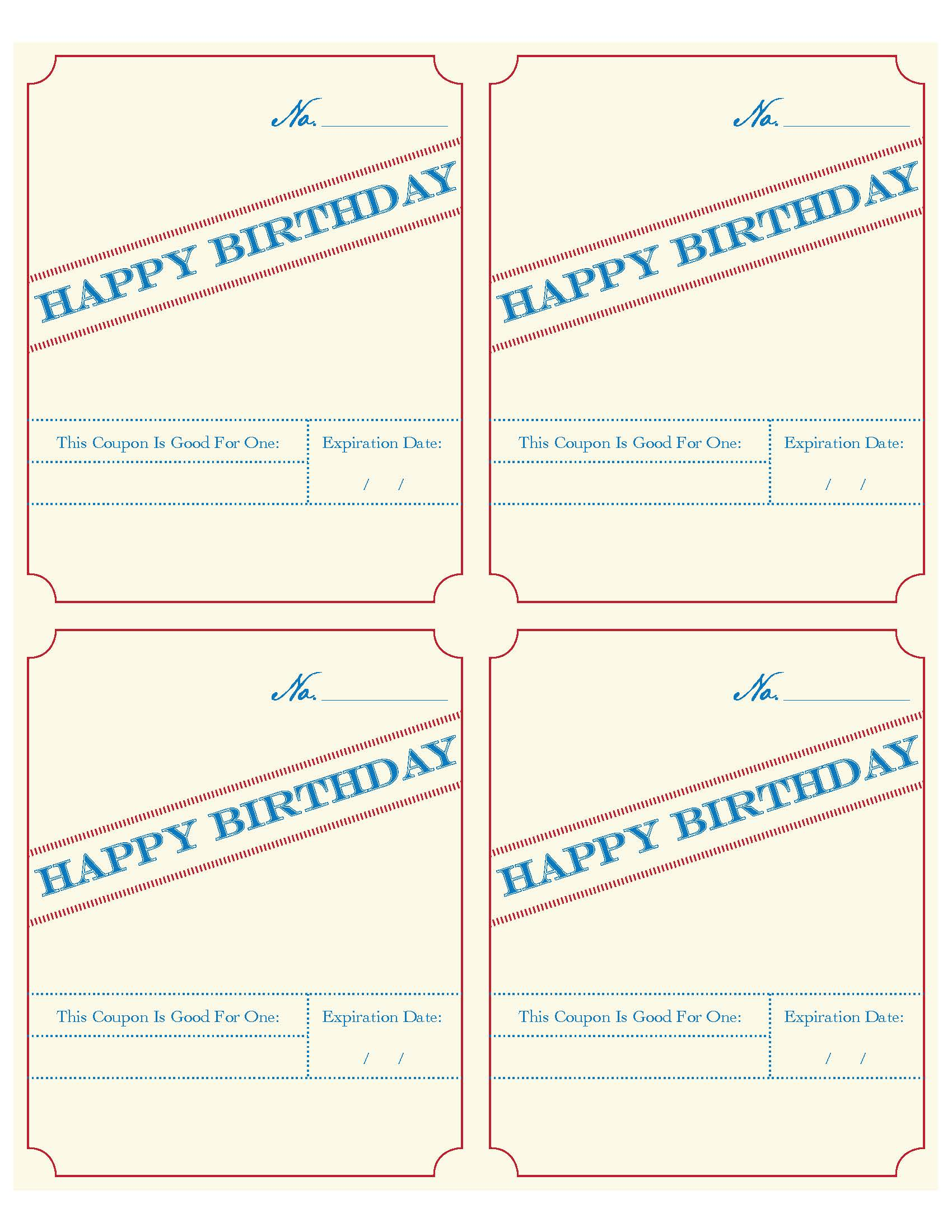 fillable birthday coupon